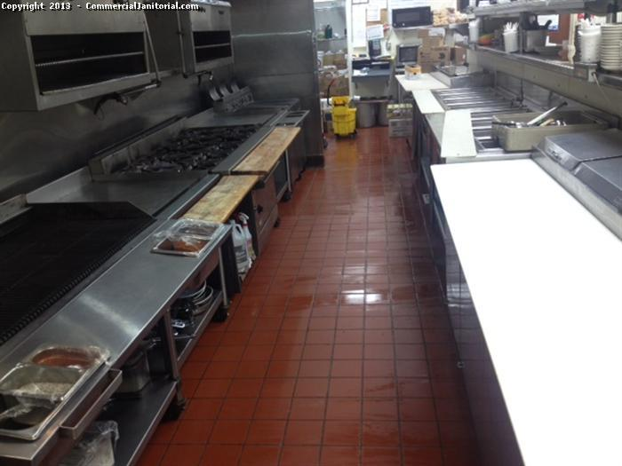 Restaurant cleaning and floor care image for Commercial bar flooring