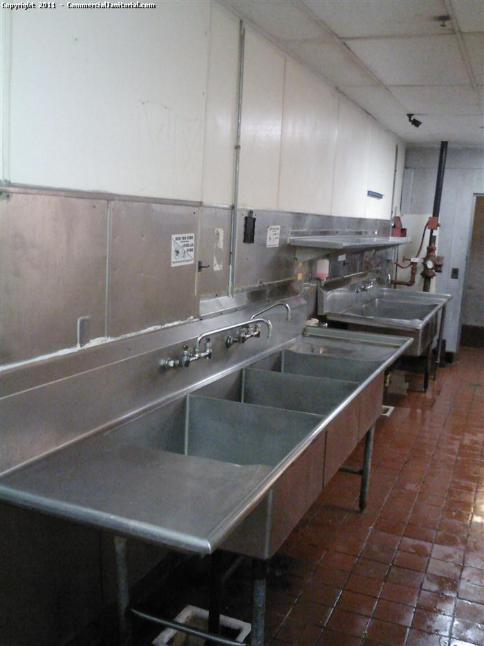 Commercial Kitchen Cleaning   After