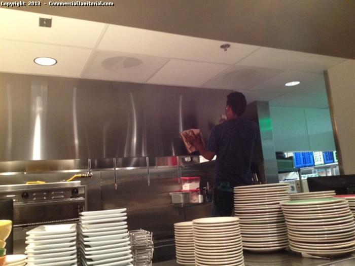 Do you have restaurant cleaning needs that are not being met? Do you struggle with restaurant cleaning companies that leave you with trouble areas and a surface-only clean? If so, we are here to show you what a real restaurant cleaning looks like when it is done correctly. Our building maintenance focus means we clean the areas others don