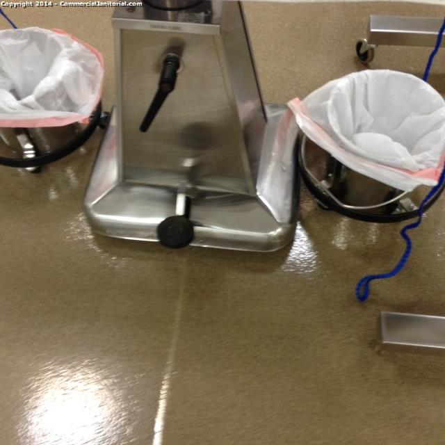 7.21.14 Janeth cleaned equipment base.  1) cleaned and polished.