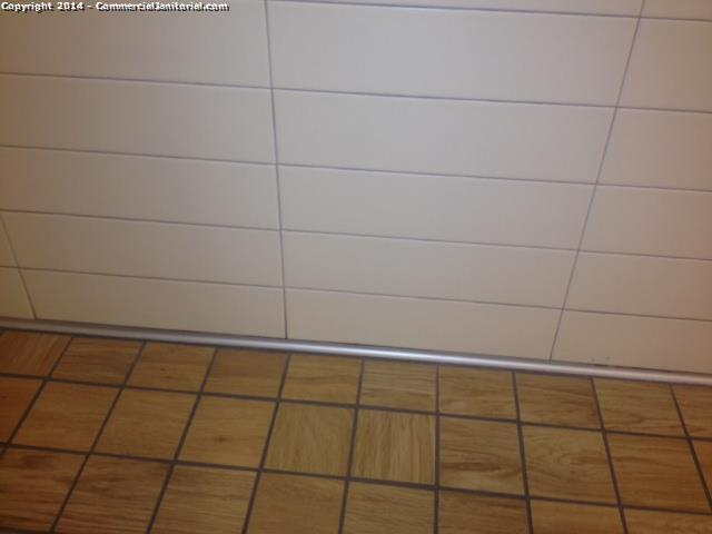 Baseboards & walls & doors