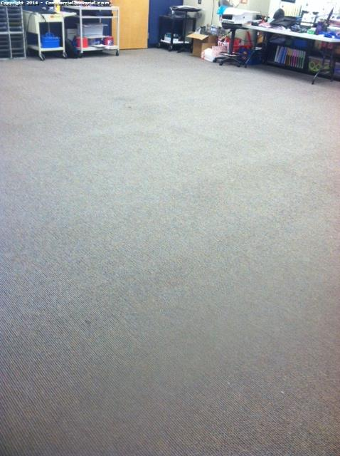 preschool classroom carpet stain removal