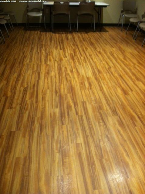 Hard Wood Floor Cleaning Image